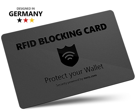 Nero RFID Blocking Card