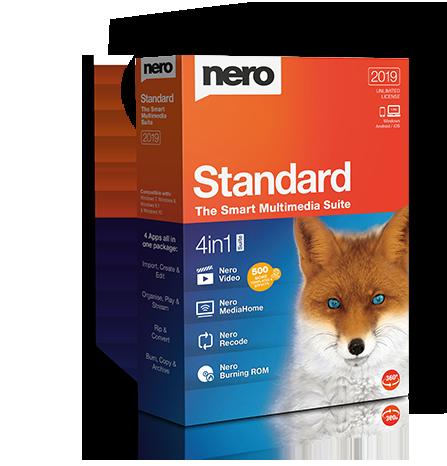 Nero Standard 2019 Suite