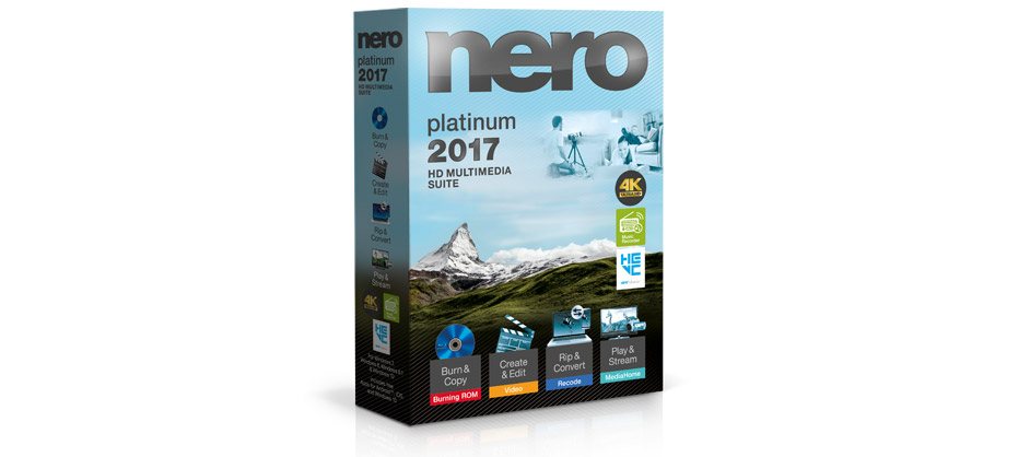 Nero 2017 Platinum Suite
