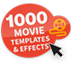 No limit to your creativity with countless effects and film templates