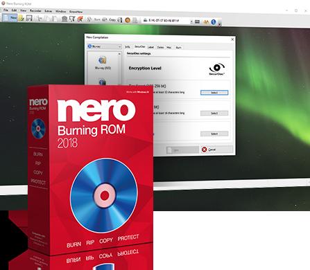 Nero Burning ROM 2018