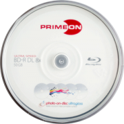 BD-R DL 50GB Primeon - 10-pack spindle