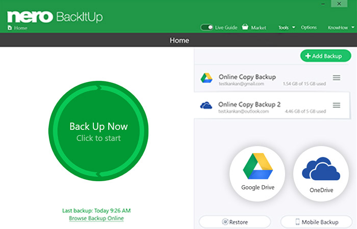 Nero BackItUp 2019 - One Click to Peace of Mind