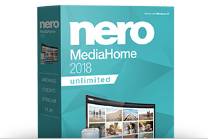 Nero MediaHome 2018 Unlimited